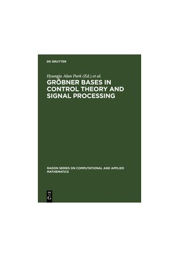 Abbildung von Park / Regensburger | Gröbner Bases in Control Theory and Signal Processing | Reprint 2011 | 2007 | 3