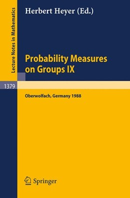Abbildung von Heyer | Probability Measures on Groups IX | 1989 | Proceedings of a Conference he... | 1379