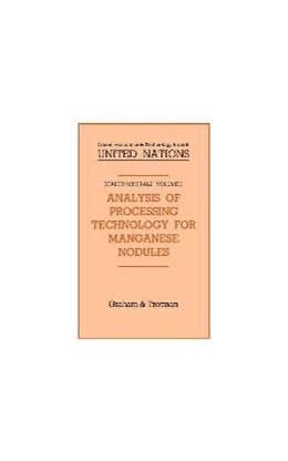 Abbildung von Analysis of Processing Technology for Manganese Nodules | 1986 | 3