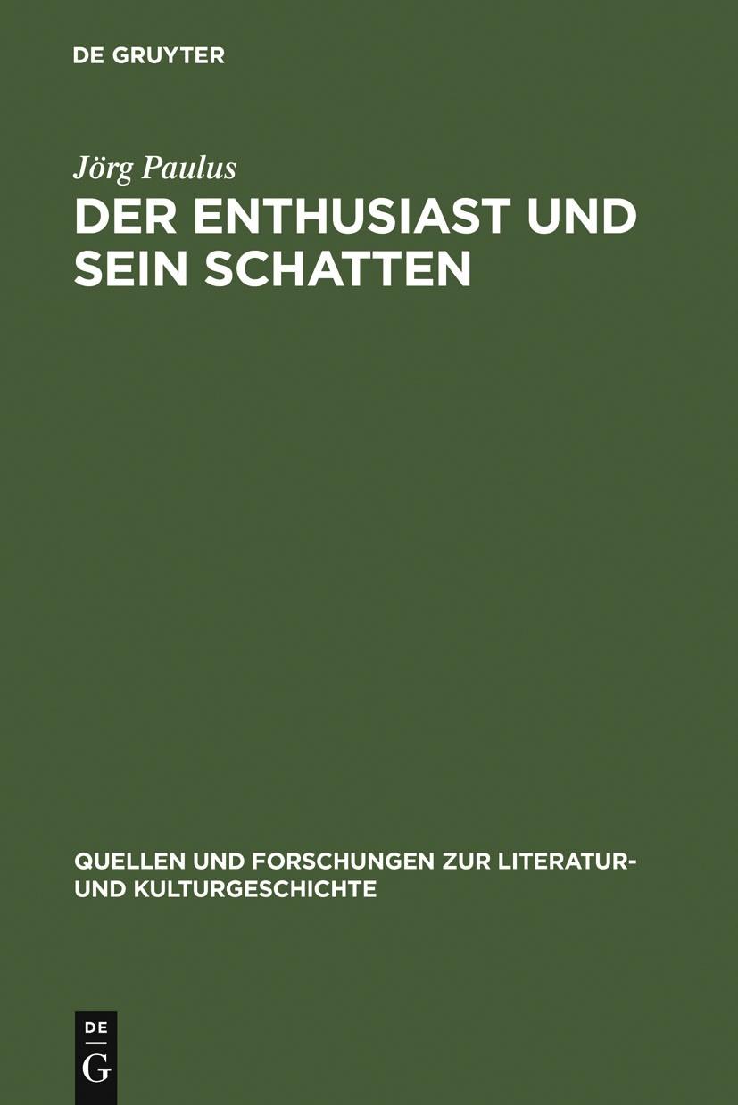 Abbildung von Paulus | Der Enthusiast und sein Schatten | 1998 | 1998