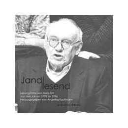 Abbildung von Kaufmann | Jandl lesend | 2003 | Lesungsfotos von Harry Ertl au...