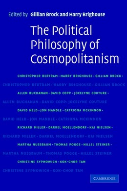 Abbildung von Brock / Brighouse | The Political Philosophy of Cosmopolitanism | 2005