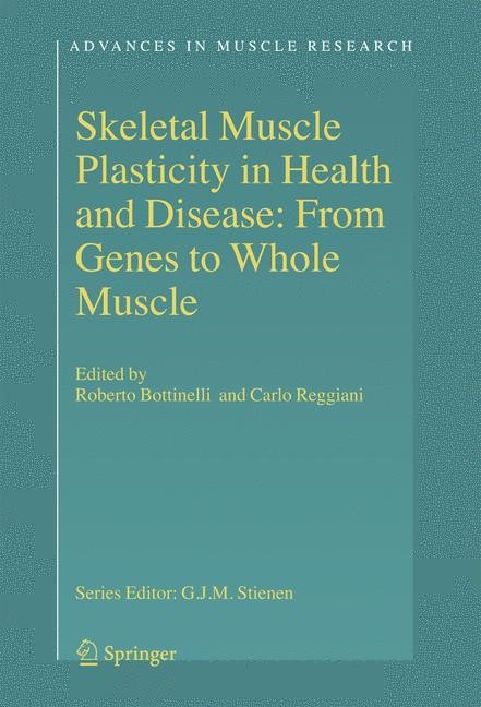 Skeletal Muscle Plasticity in Health and Disease | Bottinelli / Reggiani, 2006 | Buch (Cover)