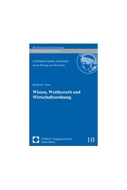 Abbildung von Streit | Wissen, Wettbewerb und Wirtschaftsordnung | 2008 | 10