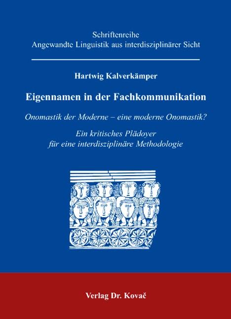 Eigennamen in der Fachkommunikation | Kalverkämper, 2006 | Buch (Cover)
