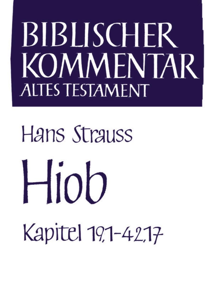 Abbildung von Meinhold / Schmidt / Thiel / Wolff / Herrmann | Hiob (Kapitel 19,1-42,17) | 2000