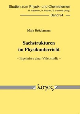 Abbildung von Brückmann | Sachstrukturen im Physikunterricht -- Ergebnisse einer Videostudie -- | 2009 | 94
