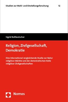 Abbildung von Roßteutscher | Religion, Zivilgesellschaft, Demokratie | 2009 | Eine international vergleichen... | 12