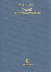 Abbildung von MÜLLER | Grundriß der Sprachwissenschaft | (Unveränd. Neuaufl. d. Ausg. Wien 1876-88) | 2004
