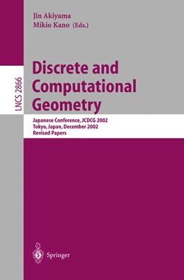 Abbildung von Akiyama / Kano | Discrete and Computational Geometry | 2003 | Japanese Conference, JCDCG 200... | 2866