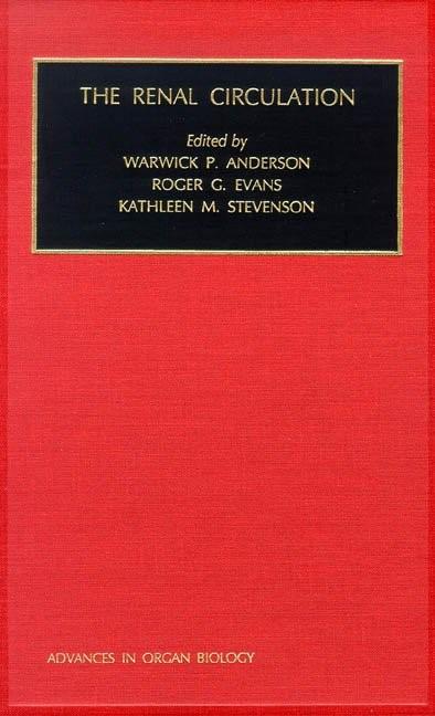 Abbildung von Anderson / Evans / Stevenson   The Renal Circulation   2000