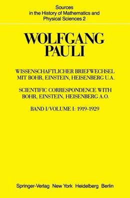 Abbildung von Hermann / Meyenn / Weisskopf   Wissenschaftlicher Briefwechsel mit Bohr, Einstein, Heisenberg u.a.   1979   Band 1: 1919–1929   2