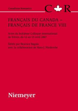 Abbildung von Bagola | Français du Canada - Français de France VIII | 2009 | Actes du huitième Colloque int... | 23