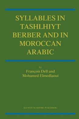Abbildung von Dell / Elmedlaoui   Syllables In Tashlhiyt Berber And In Moroccan Arabic   2002   2