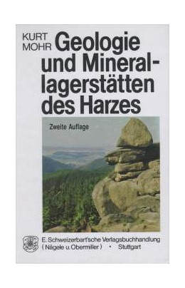 Abbildung von Mohr   Geologie und Minerallagerstätten des Harzes   1993