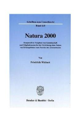 Abbildung von Wichert | Natura 2000. | 2001 | Kooperatives Vorgehen von Geme... | 115