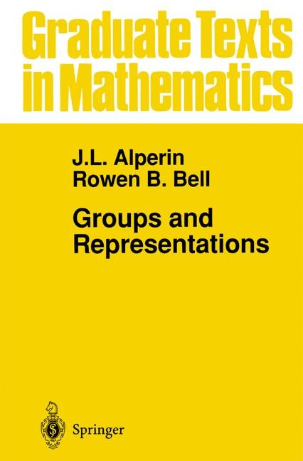 Abbildung von Alperin / Bell | Groups and Representations | 1995