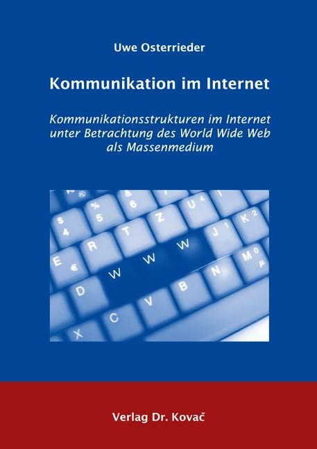 Abbildung von Osterrieder | Kommunikation im Internet | 2006