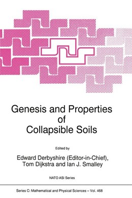 Abbildung von Dijkstra / Smalley | Genesis and Properties of Collapsible Soils | 1995