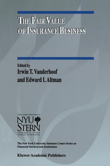 Abbildung von Vanderhoof / Altman | The Fair Value of Insurance Business | 2000
