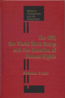 Abbildung von Ghazi | The IMF, the World Bank Group and the Question of Human Rights | 2005 | 4