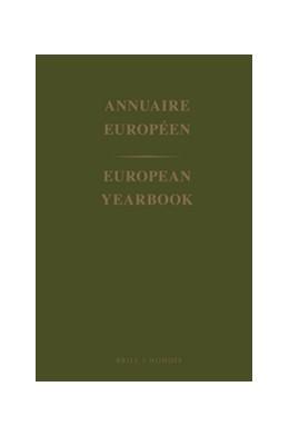 Abbildung von European Yearbook / Annuaire Européen, Volume 46 (1998) | 2001