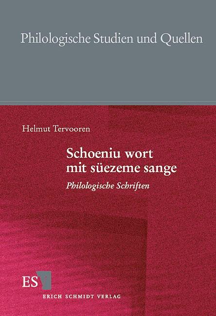 Abbildung von Tervooren / Fritsch / Spicker | Schoeniu wort mit süezeme sange | 2000