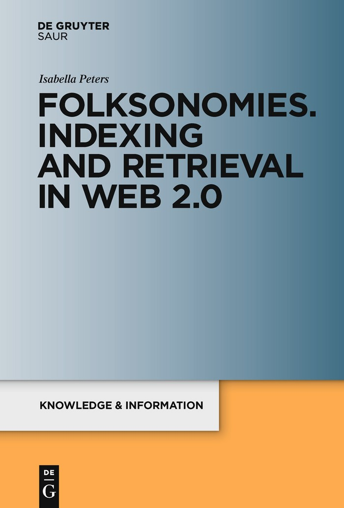 Abbildung von Peters | Folksonomies. Indexing and Retrieval in Web 2.0 | 2009