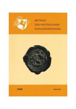 Abbildung von Wunschhofer | Beiträge zur Westfälischen Familienforschung | 2010 | Band 67-2009