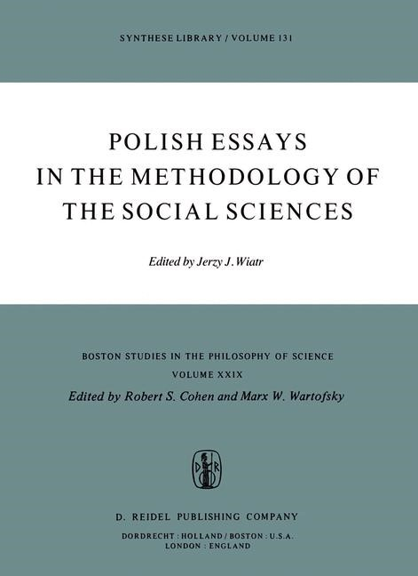 Abbildung von Wiatr | Polish Essays in the Methodology of the Social Sciences | 1979