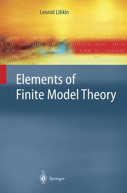 Abbildung von Libkin | Elements of Finite Model Theory | 2004
