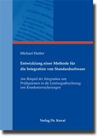 Abbildung von Hutter | Entwicklung einer Methode für die Integration von Standardsoftware | 2009