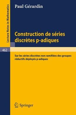 Abbildung von Gerardin | Construction de Series Discretes p-adiques | 1975 |