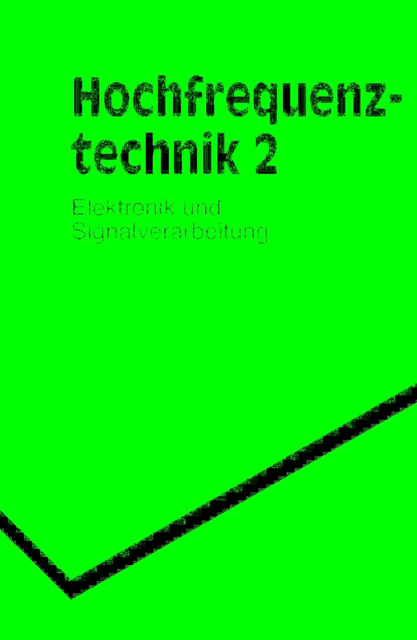 Abbildung von Vlcek / Hartnagel / Mayer   Hochfrequenztechnik   5., neubearb. Aufl.   1998