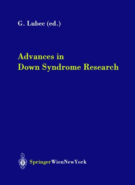 Abbildung von Lubec | Advances in Down Syndrome Research | 2003