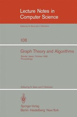 Abbildung von Saito / Nishizeki | Graph Theory and Algorithms | 1981