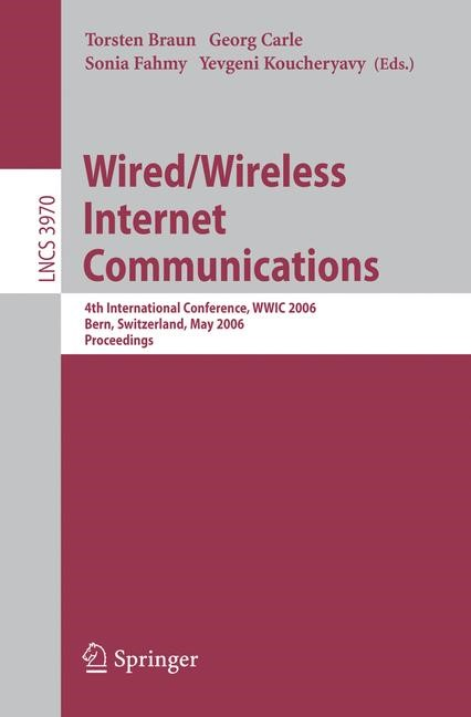 Wired/Wireless Internet Communications | Braun / Carle / Fahmy / Koucheryavy, 2006 | Buch (Cover)