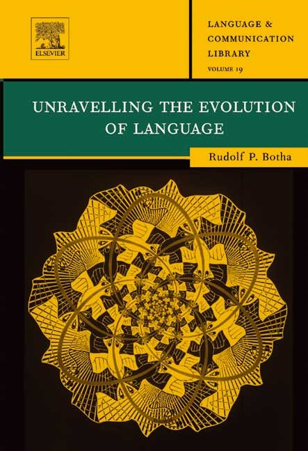 Abbildung von Botha | Unravelling the Evolution of Language | 2003