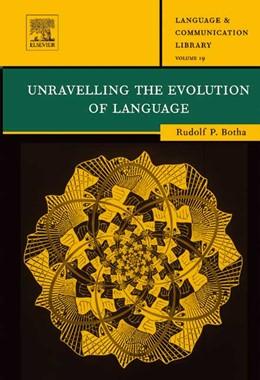 Abbildung von Botha | Unravelling the Evolution of Language | 2003 | 19