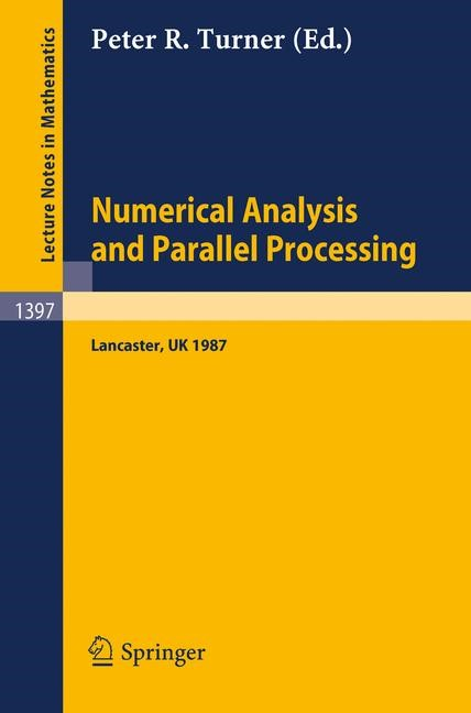 Abbildung von Turner | Numerical Analysis and Parallel Processing | 1989