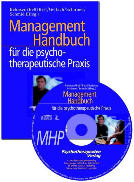 Abbildung von Behnsen / Bell / Best / Gerlach / Schirmer / Schmid | Management Handbuch für die psychotherapeutische Praxis | 2005