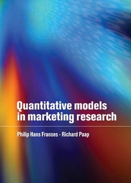 Abbildung von Franses / Paap | Quantitative Models in Marketing Research | 2001