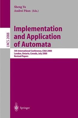 Abbildung von Yu / Paun | Implementation and Application of Automata | 2001 | 5th International Conference, ... | 2088