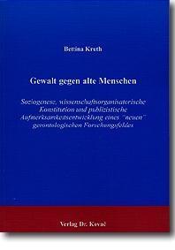 Abbildung von Kruth | Gewalt gegen alte Menschen | 2001
