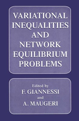 Abbildung von Giannessi / Maugeri | Variational Inequalities and Network Equilibrium Problems | 1995