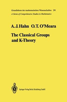 Abbildung von Hahn / O'Meara | The Classical Groups and K-Theory | 1989