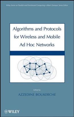 Abbildung von Boukerche | Algorithms and Protocols for Wireless, Mobile Ad Hoc Networks | 2008