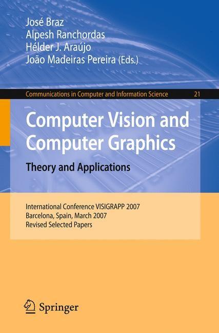 Abbildung von Braz / Ranchordas / Araújo / Madeiras Pereira | Computer Vision and Computer Graphics. Theory and Applications | 2008