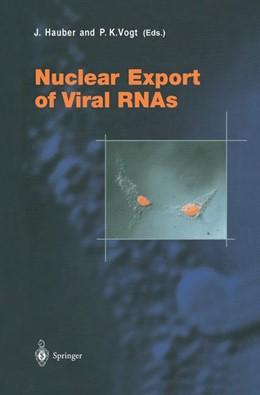 Abbildung von Hauber / Vogt | Nuclear Export of Viral RNAs | 2001 | 259