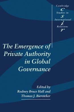 Abbildung von Hall / Biersteker | The Emergence of Private Authority in Global Governance | 2002 | 85